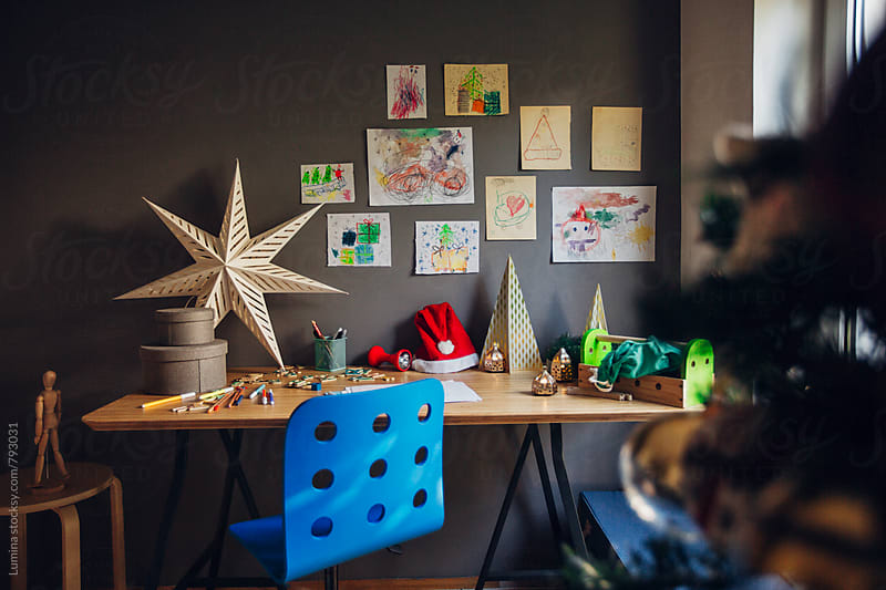 Child's Desk by Lumina for Stocksy United