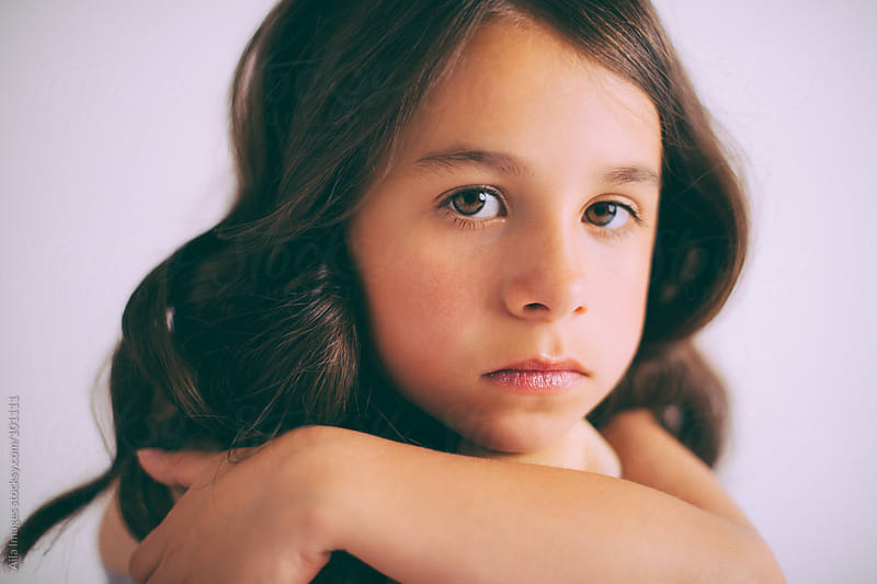 Beautiful Little Girl by Aila Images for Stocksy United