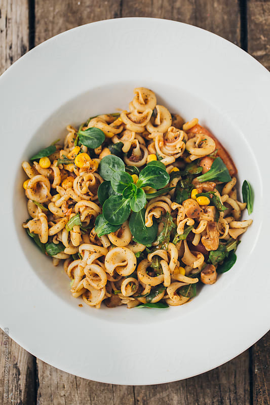 Delicious Pasta by Lumina for Stocksy United