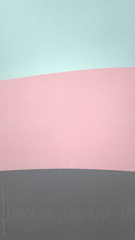 pale pink blue and grey background by Sonja Lekovic for Stocksy United