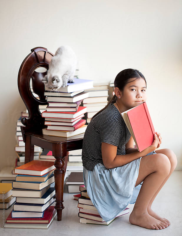 Quiet Reading by Jill Chen for Stocksy United