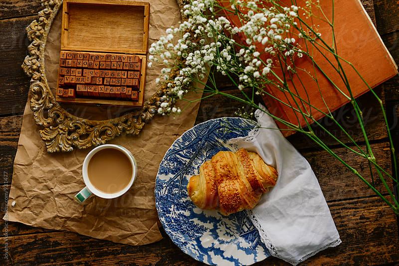 Coffee and breakfast by Jovana Vukotic for Stocksy United