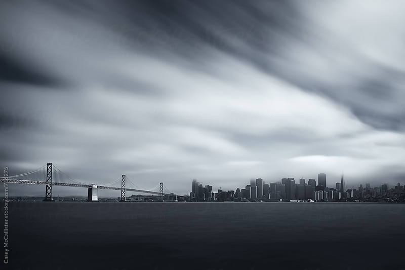 San Francisco Skyline by Casey McCallister for Stocksy United