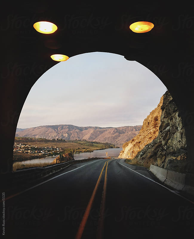 Morning River Tunnel by Kevin Russ for Stocksy United