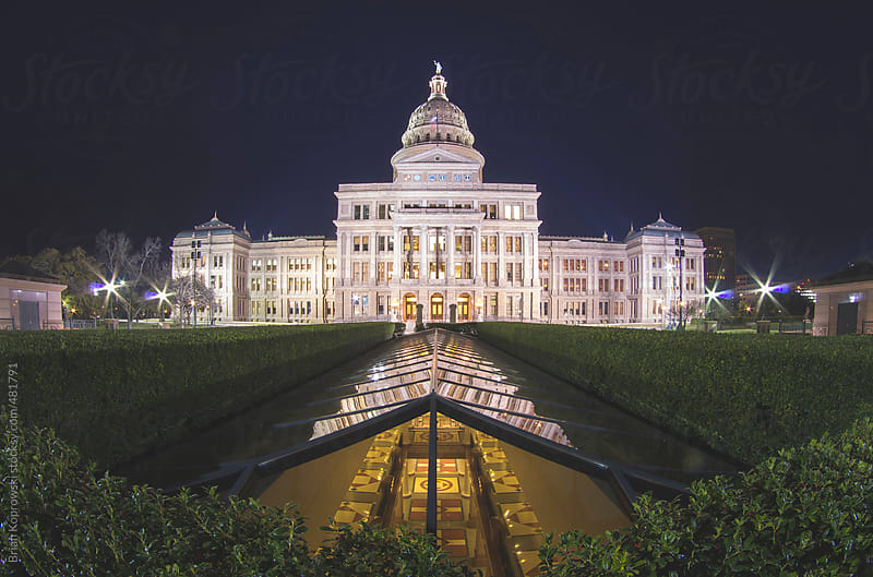 Above and Below the Capitol by Brian Koprowski for Stocksy United