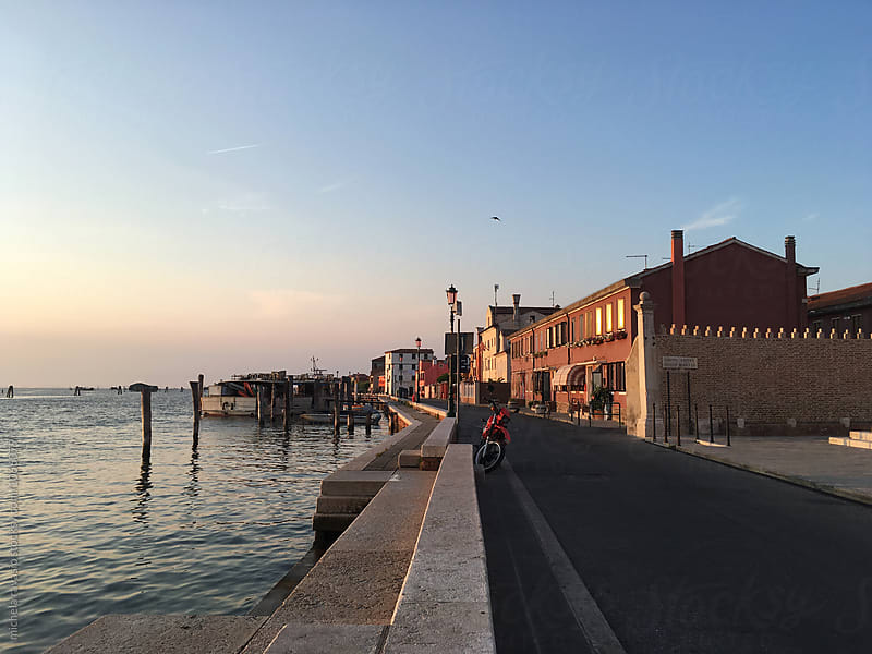 View of Pellestrina Island, Italy by michela ravasio for Stocksy United