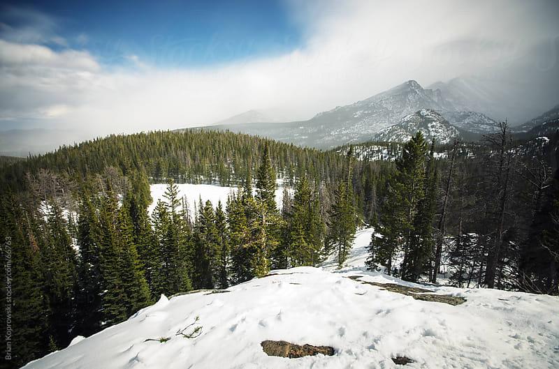 Rocky Mountain Storm by Brian Koprowski for Stocksy United
