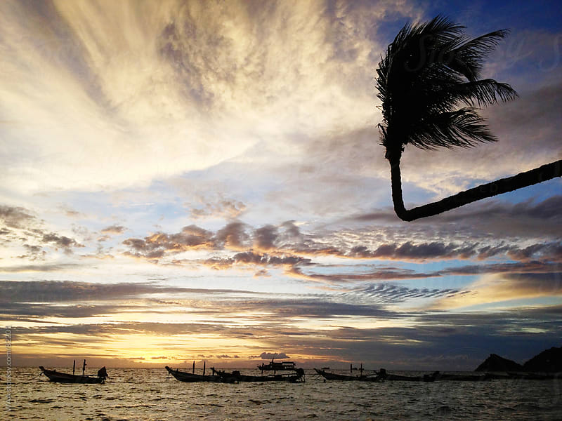 Thailand Sunset by WAA for Stocksy United