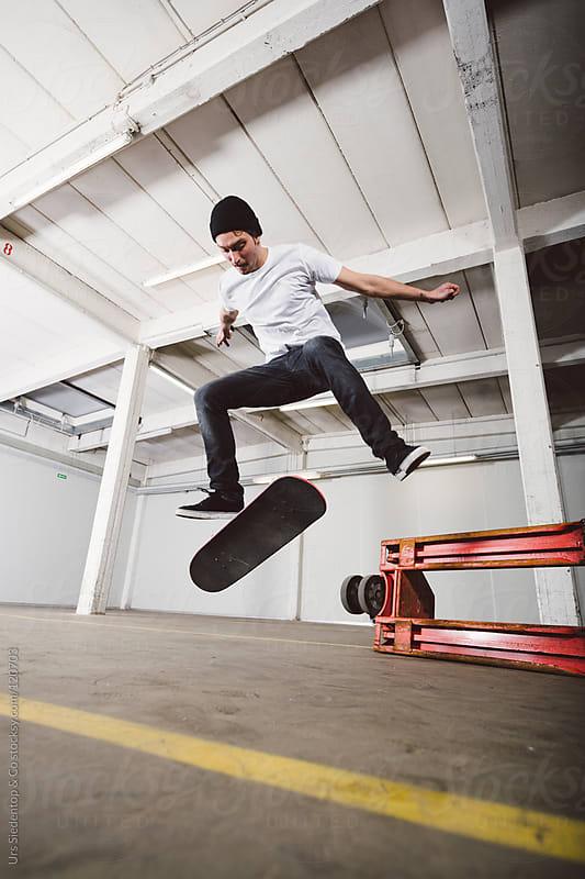 Skateboard Kickflip by Urs Siedentop & Co for Stocksy United