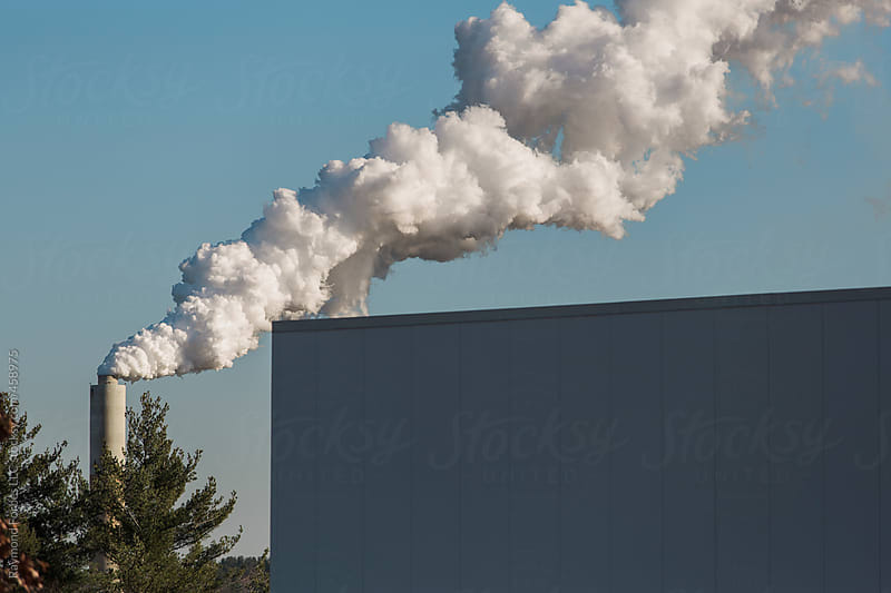 Coal Burning Power Plant by Raymond Forbes LLC for Stocksy United