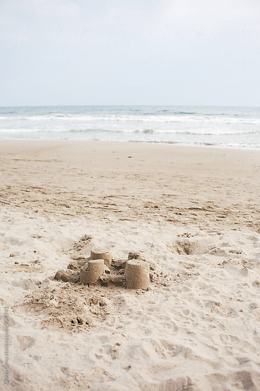 Sand castle by Giada Canu for Stocksy United
