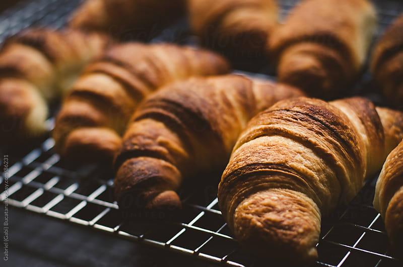 Fresh Croissants by Gabriel (Gabi) Bucataru for Stocksy United