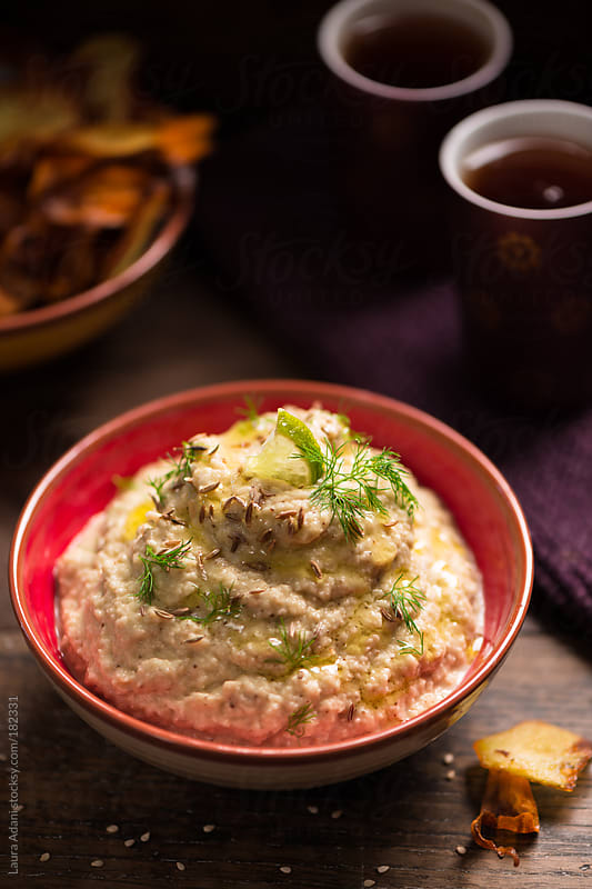 baba ghanoush by Laura Adani for Stocksy United