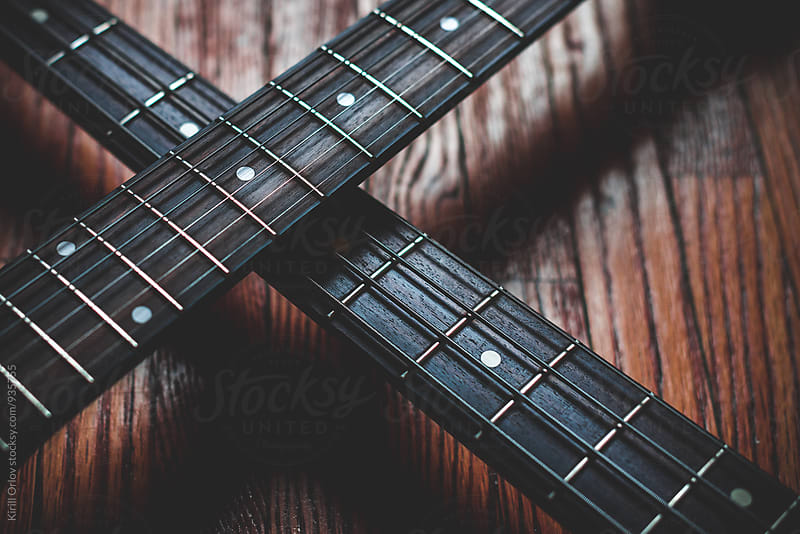 Guitars by Kirill Orlov for Stocksy United