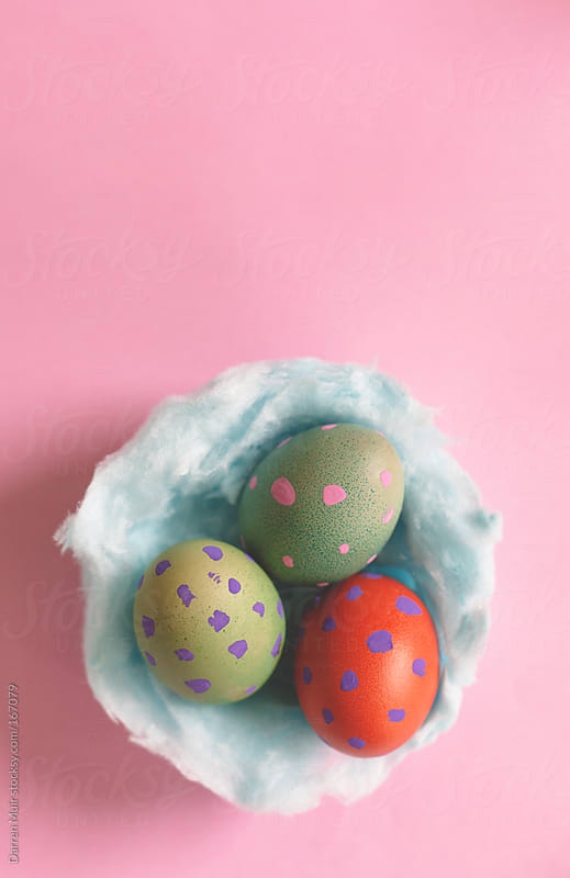 Decorated Easter eggs. by Darren Muir for Stocksy United