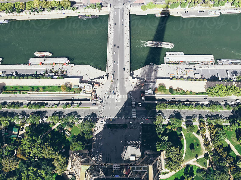 Shadow of the Eiffel Tower by Tommaso Tuzj for Stocksy United