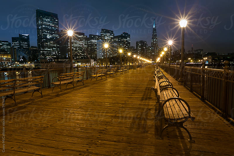 Downtown San Francisco Pier by Casey McCallister for Stocksy United