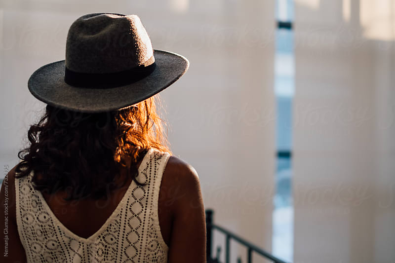 Bolivian Woman With Hat in Afternoon Light by Nemanja Glumac for Stocksy United