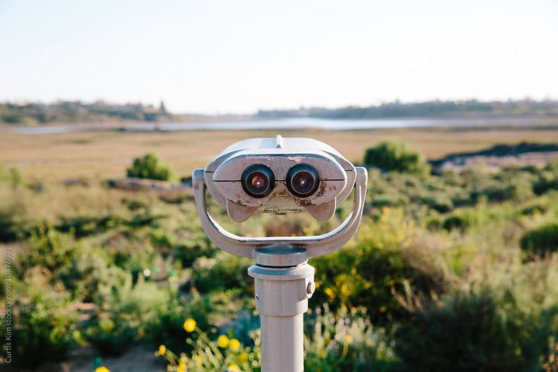 Natural Preserve Binocular Telescope  by Curtis Kim for Stocksy United
