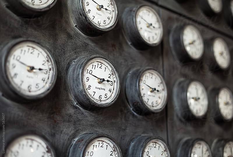 Clocks of the World by Lumina for Stocksy United
