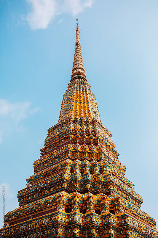 Wat Pho in Bangkok, Thailand by Marija Savic for Stocksy United