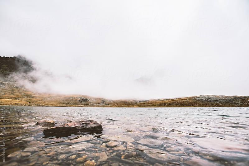 Mountain lake by michela ravasio for Stocksy United