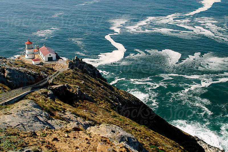 Point Reyes Lighthouse Point Reyes National Seashore Point Reyes Station, California by Raymond Forbes LLC for Stocksy United