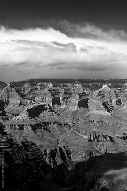 Approaching Storm, Grand Canyon by Adam Nixon for Stocksy United