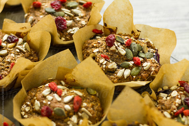 Healthy muffins by Kirsty Begg for Stocksy United
