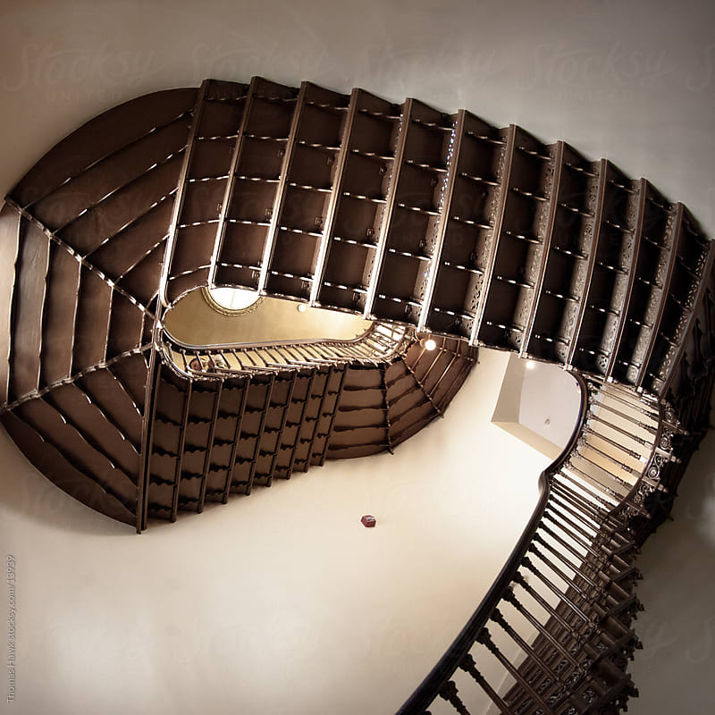 Stairs in Old St. Louis Courthouse by Thomas Hawk for Stocksy United