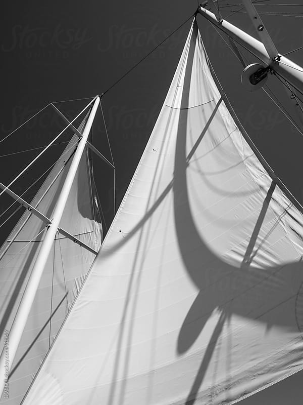 Abstract detail of a sail by DV8OR for Stocksy United