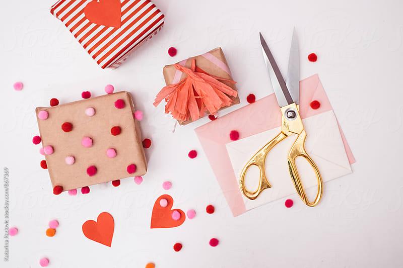 Valentine's Gift Crafts by Katarina Radovic for Stocksy United