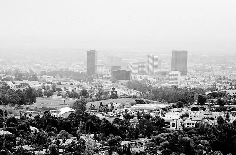 Los Angeles Cityscape by Thomas Hawk for Stocksy United