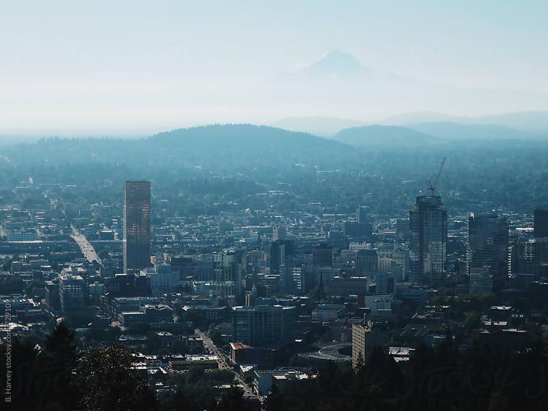 City of Portland by B. Harvey for Stocksy United