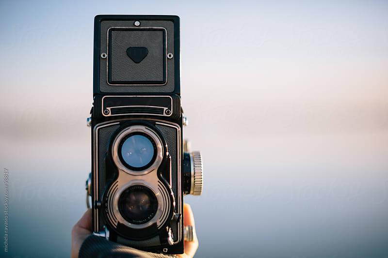 Old film camera. by michela ravasio for Stocksy United