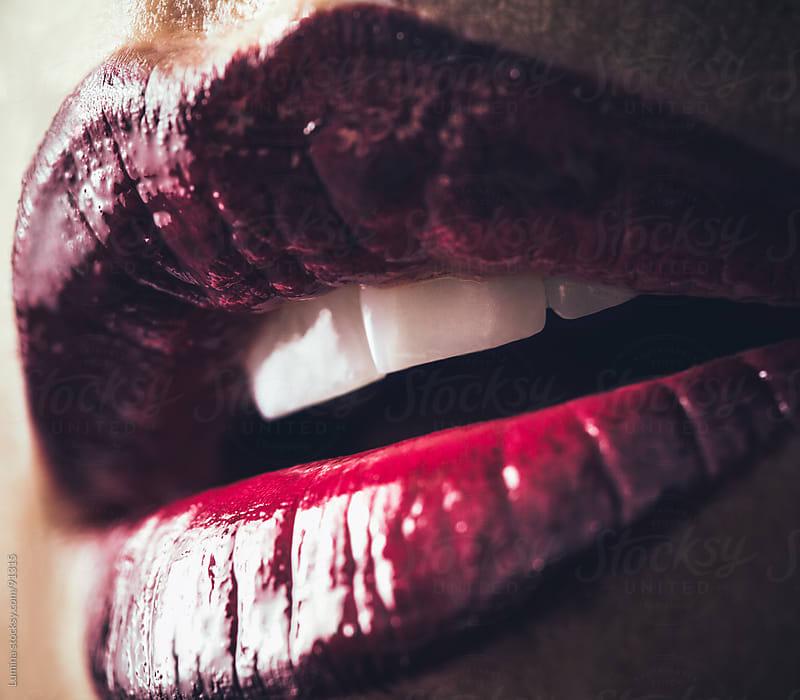 Sensual Lips by Lumina for Stocksy United