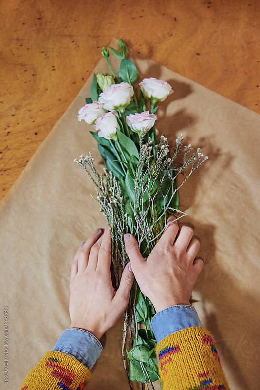 Florist by Jose Coello for Stocksy United