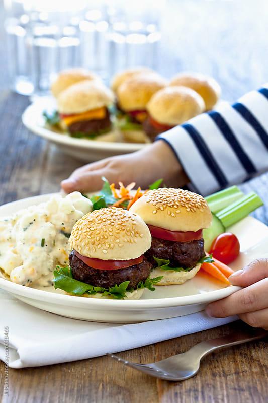 Lunch Buffet by Jill Chen for Stocksy United