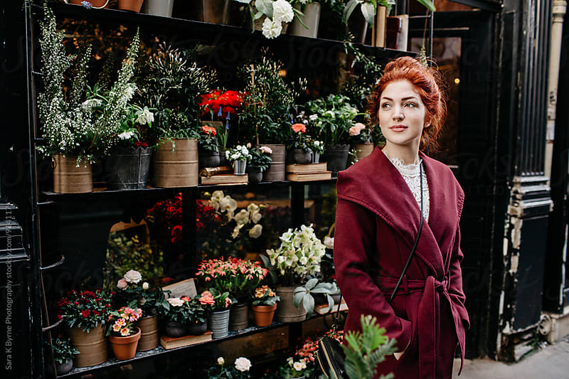 Flower Shop by Sara K Byrne Photography for Stocksy United