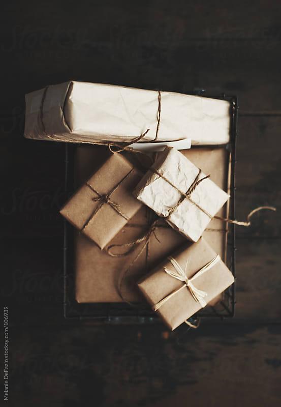 Neutral gift wrap by Melanie DeFazio for Stocksy United