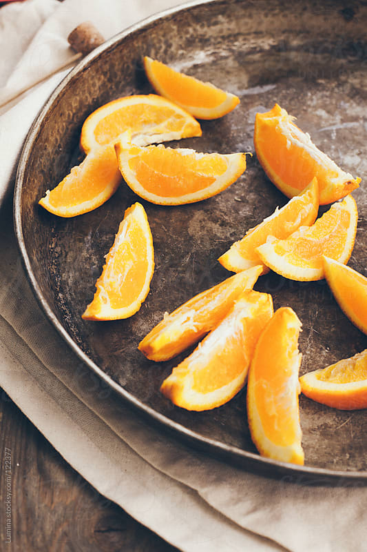 Sliced Orange by Lumina for Stocksy United