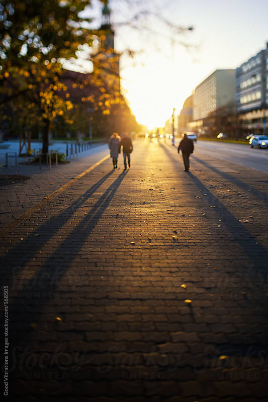 Berlin at Sunset by Good Vibrations Images for Stocksy United