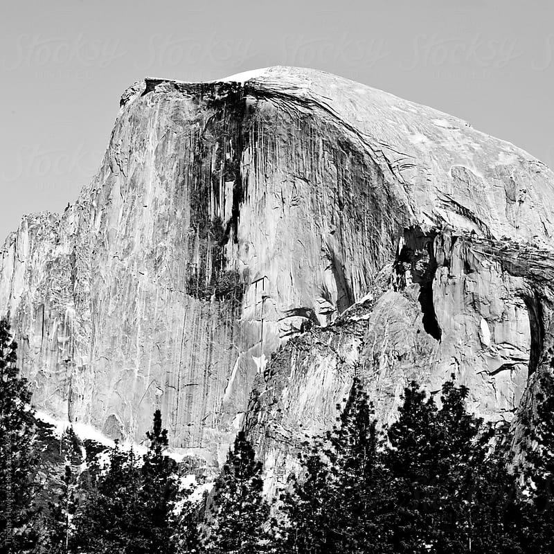 Half Dome, Yosemite, CA by Thomas Hawk for Stocksy United