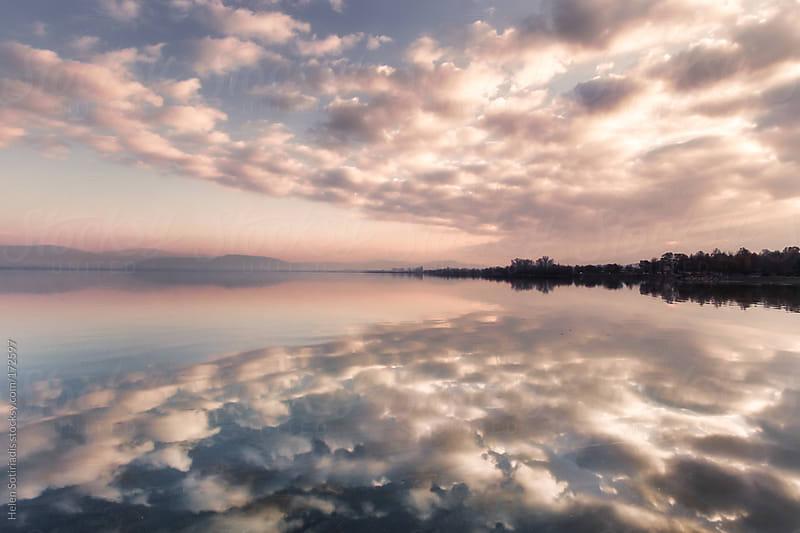 Pamvotis Lake at Ioannina, Greece by Helen Sotiriadis for Stocksy United
