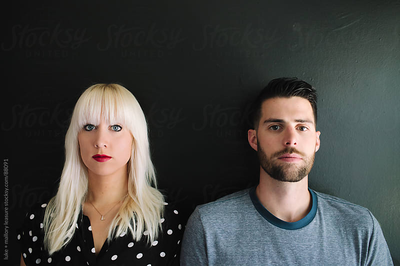 Couple Head Shot  by luke + mallory leasure for Stocksy United