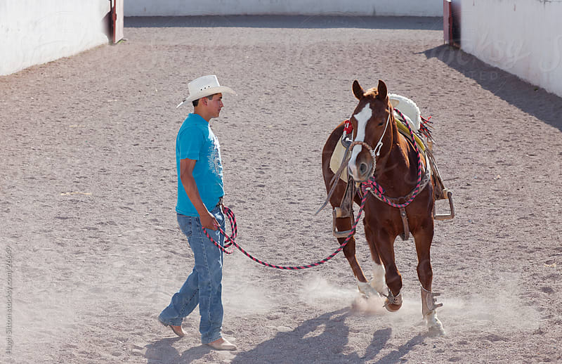 Mexican Cowboy or Charro. Mexico by Hugh Sitton for Stocksy United