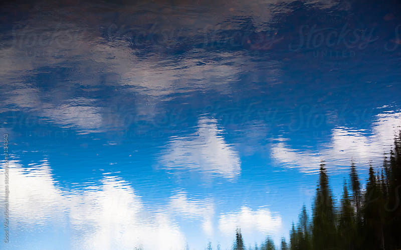 Sky Reflections, Upside Down by Good Vibrations Images for Stocksy United