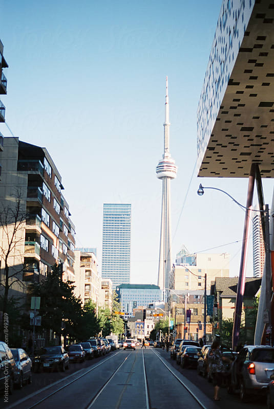 CN Tower in Toronto by Kristopher Orr for Stocksy United