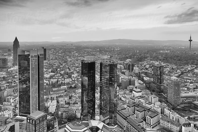 Frankfurt am Main cityscape by Marilar Irastorza for Stocksy United