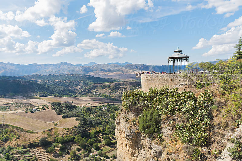 Lookout of Ronda, Spain by Preappy for Stocksy United